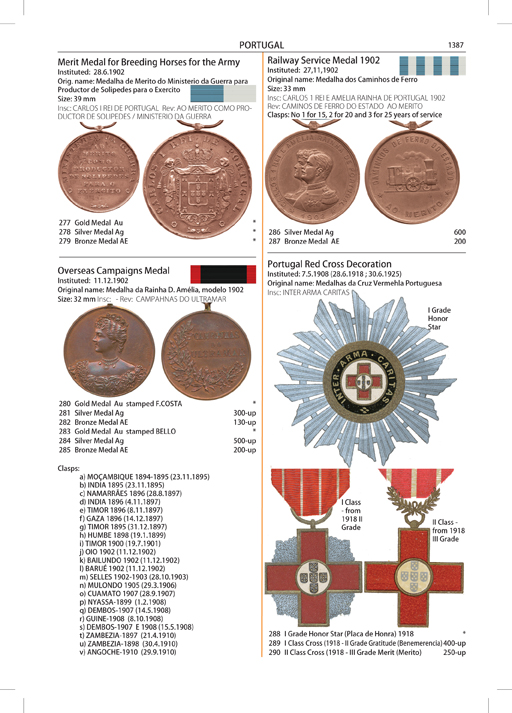 part iv reference catalogue orders medals and decorations of the